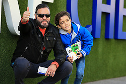 Chelsea fans pose outside Stamford Bridge - Mandatory by-line: Jason Brown/JMP - 26/12/2016 - FOOTBALL - Stamford Bridge - London, England - Chelsea v Bournemouth - Premier League