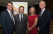 Repro free: At the Gorta Self Help Africa annual Ball at hotel Meyrick, Galway were  Cllr Niall McNeilis and Minister for Foreign aid Sean Sherlock TD. and Senator Lorraine Higgins and Derek Nolan TD. Photo:Andrew Downes