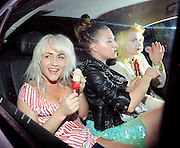 02.JUNE.2011. LONDON<br /> <br /> JAMIE WINSTONE EATING AN ICE LOLLY AND PAM HOGG LEAVING THE ROYAL ACADEMY SUMMER EXHIBITION 2011 AT THE ROYAL ACADEMY OF ARTS, IN MAYFAIR.<br /> <br /> BYLINE: EDBIMAGEARCHIVE.COM<br /> <br /> *THIS IMAGE IS STRICTLY FOR UK NEWSPAPERS AND MAGAZINES ONLY*<br /> *FOR WORLD WIDE SALES AND WEB USE PLEASE CONTACT EDBIMAGEARCHIVE - 0208 954 5968*