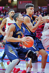 NORMAL, IL - November 03: Pierson Wofford during a college basketball game between the ISU Redbirds  and the Augustana Vikings on November 03 2018 at Redbird Arena in Normal, IL. (Photo by Alan Look)