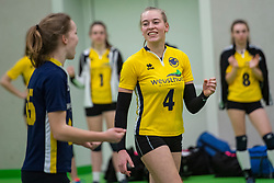 31-03-2019 NED: Final A Volleybaldirect Open, Koog aan de Zaan<br /> 16 teams of girls and boys A competed for the Dutch Open Championship / Springendal Set-Up '65 vs. VCN