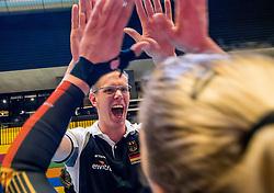 04-04-2017 NED:  CEV U18 Europees Kampioenschap vrouwen dag 3, Arnhem<br /> Duitsland - Nederland 3-1 / Nederland verliest kansloos van Duitsland met 3-1 - Bart Jan van der Mark