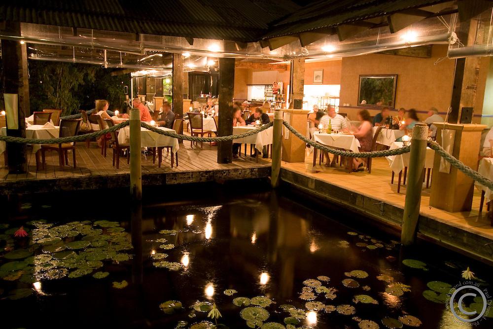 The Wharf Restaurant in the Radisson Treetops Resort, Port Douglas, far north Queensland, Australia.