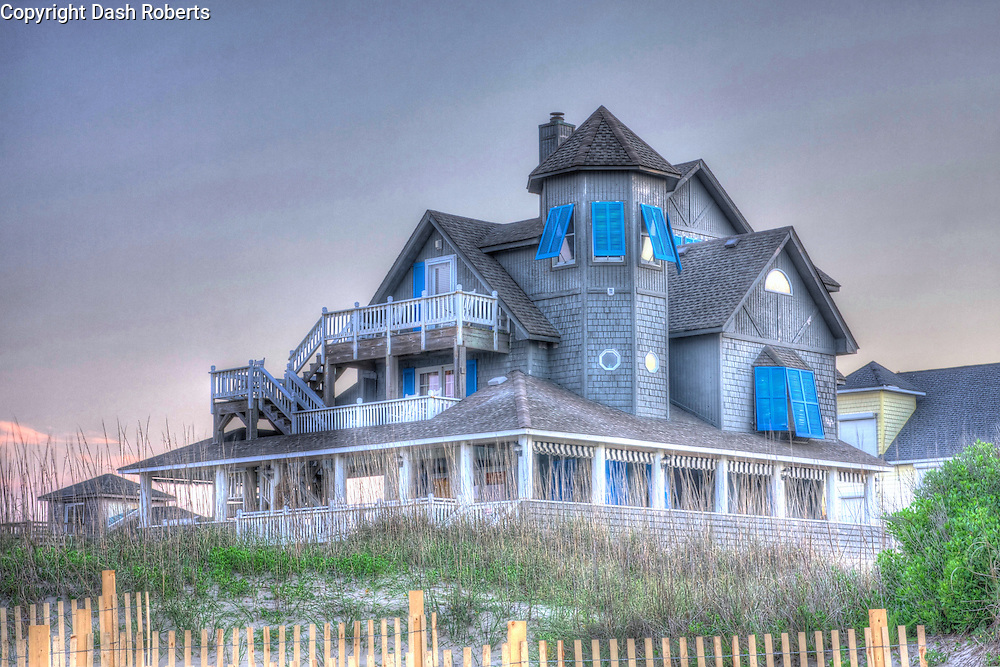 Inn at Rodanthe located on the Outer Banks of North Carolina in Rodanthe.  Home was used in the filming of movie Nights in Rodanthe.