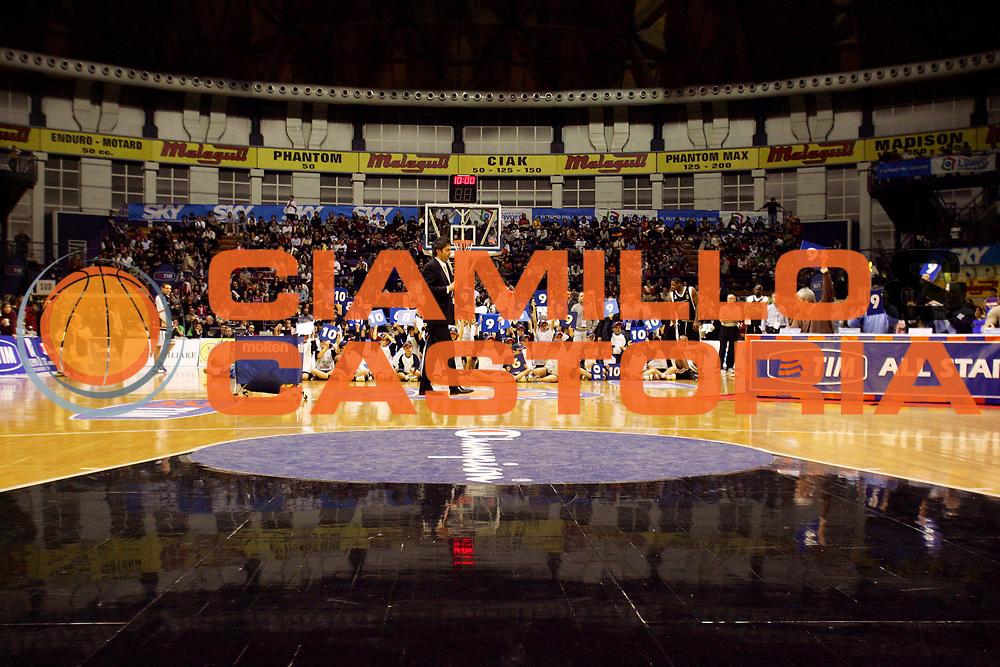 DESCRIZIONE : Bologna Lega A1 2005-06 Tim All Star Game <br /> GIOCATORE : <br /> SQUADRA : <br /> EVENTO : Tim All Star Game 2005-2006 Gara delle Schiacciate <br /> GARA : All Star Quadrifoglio Vita All Star Ail <br /> DATA : 11/12/2005 <br /> CATEGORIA : <br /> SPORT : Pallacanestro <br /> AUTORE : Agenzia Ciamillo-Castoria/G.Ciamillo