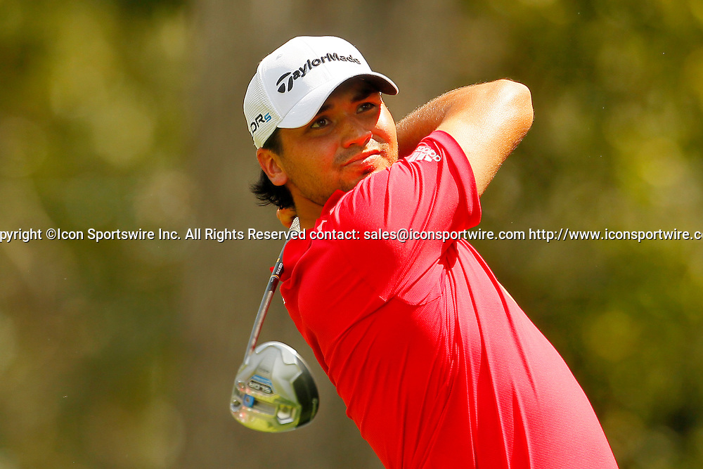 September 12, 2014: Jason Day on the sixteenth tee in the second round of the FedEx Cup - The Tour Championship at East Lake Golf Club in Atlanta, Georgia.