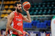 Datome Luigi<br /> Nazionale Senior maschile<br /> Allenamento<br /> World Qualifying Round 2019<br /> Bologna 13/09/2018<br /> Foto  Ciamillo-Castoria / M. Longo