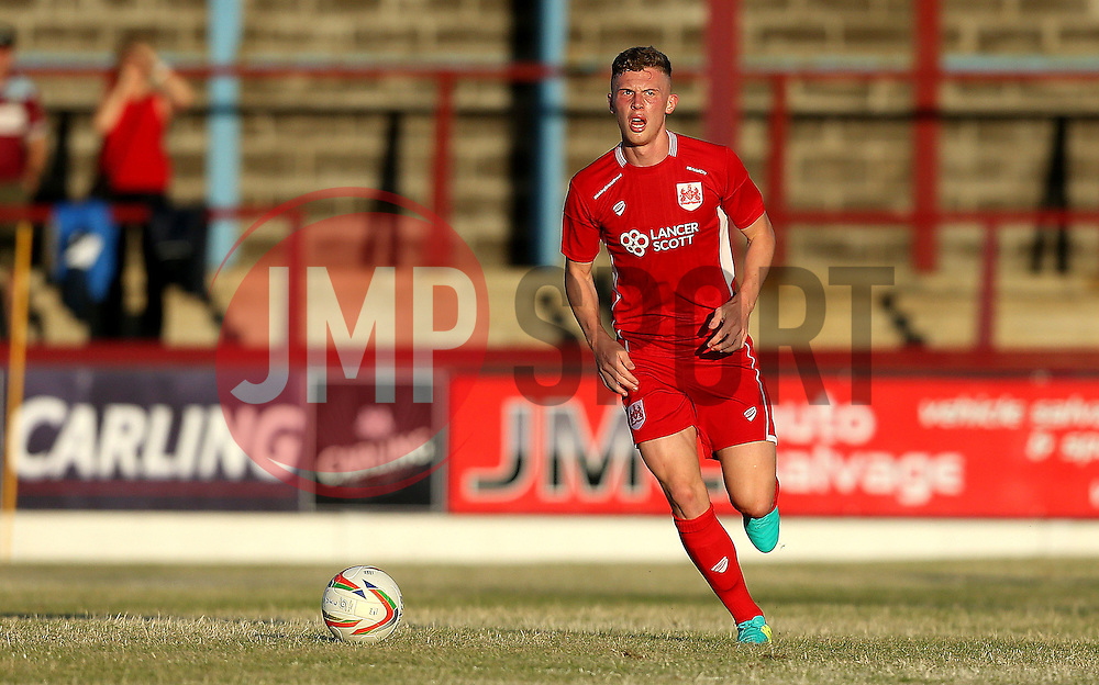 Jack Challis of Bristol City Under 21s runs with the ball - Mandatory by-line: Robbie Stephenson/JMP - 13/07/2016 - FOOTBALL - Bob Lucas Stadium - Weymouth, England - Weymouth FC v Bristol City Under 21s - Pre-season friendly