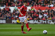 Joe Lolley (23) passes forward during the EFL Sky Bet Championship match between Nottingham Forest and Bolton Wanderers at the City Ground, Nottingham, England on 5 May 2019.