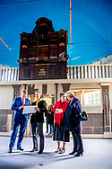 2-9-2018 KLOOSTERBUREN - King Willem-Alexander during a working visit to cooperative Klooster & Buren. The aim of the cooperative is to strengthen the quality of life in the area by permanently connecting care, housing and nature and cultural preservation. ROBIN UTRECHT