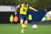 Oxford United midfielder James Henry (17)  scores a goal from open play 1-0 during the EFL Sky Bet League 1 match between Oxford United and Doncaster Rovers at the Kassam Stadium, Oxford, England on 12 October 2019.