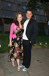SHEBAH RONAY and JOHNNY YEO at the annual Serpentine Gallery Summer Party co-hosted by Jimmy Choo shoes held at the Serpentine Gallery, Kensington Gardens, London on 30th June 2005.<br /><br />NON EXCLUSIVE - WORLD RIGHTS