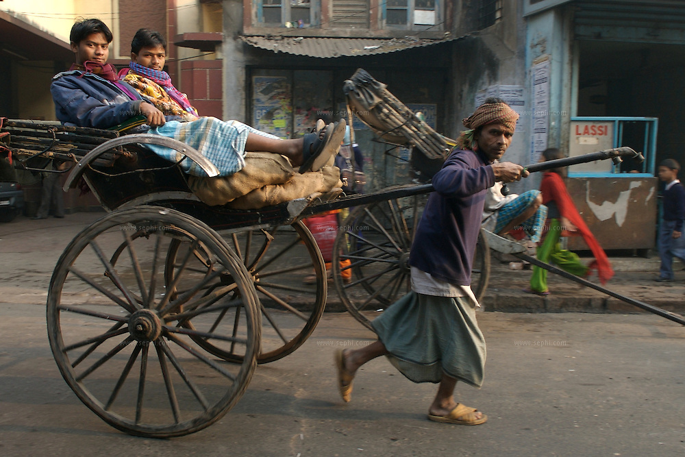 "The hand-pulled rickshaw of Calcutta, immortalised by Dominic Lapierre's famous novel, City of Joy, will soon be a part of the history books as a bill passed by the West Bengal state assembly described the centuries-old mode of transport as ""inhumane."".The future of about 18,000 rickshaw pullers in the city, earning an avarage daily wages of about 100 rupees ($2.5).is unclear as they call for a compensation package to help them rehabilitate into alternative jobs."