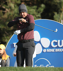 Oct 19, 2018-Jeju, South Korea-JASON DAY of Australia action on the 11th tee during the PGA Golf CJ Cup Nine Bridges Round 2 at Nine Bridges Golf Club in Jeju, South Korea.