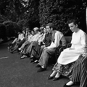 Dancing at Iveagh Gardens - 1900 Period Dress.03/04/1957