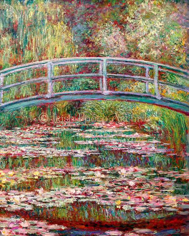 Bridge Over a Pond of Water Lilies, Claude Monet 1899