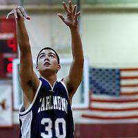 Piedmont v Carlmont Boys Basketball 121010