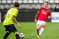 ALKMAAR - 12-09-2017, Jong AZ - Telstar, AFAS Stadion, 2-2, Jong AZ speler Justin Bakker