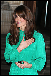The Duchess of Cambridge at  the Natural History Museum in London, where she opened the new Treasures Gallery, Tuesday, 27th November 2012. .Photo by: Stephen Lock / i-Images