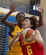 Basketball: LA Sparks vs China