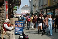 On the streets of downtown Uzhgorod