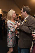 MIRIAM BREMER; ALEX BREMER, Charity Gala Reception in aid of the Neuroblastoma Society, Bada Antiques and Fine art Fair. Duke of York Sq.  Sloane Sq. London. 19 March 2014.
