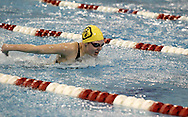 Oakwood junior Maddie Hochualt competes in the 200 yard individual medley during the Girls Division II District Swimming Tournament at the Corwin Nixon Natatorium at Miami University, Saturday, February 16, 2008.