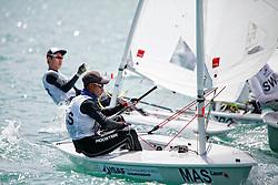MalaysiaLaser RadialMenHelmMASAA12AsriAzman<br />Day5, 2015 Youth Sailing World Championships,<br />Langkawi, Malaysia