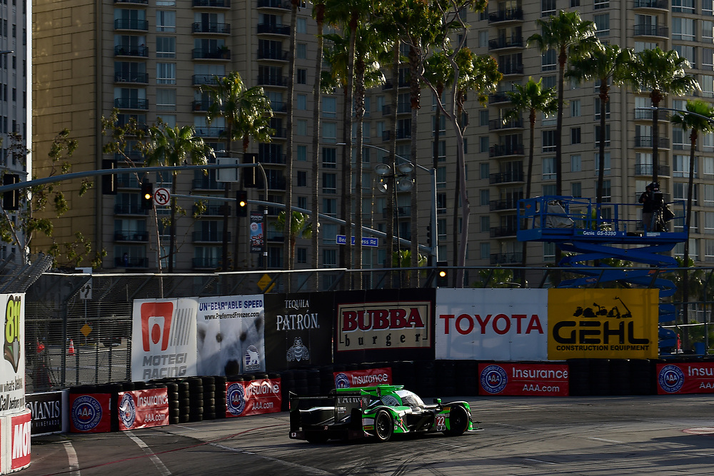 #22 Tequila Patron ESM Nissan DPi, P: Pipo Derani, Johannes van Overbeek<br /> Friday 13 April 2018<br /> BUBBA burger Sports Car Grand Prix at Long Beach<br /> Verizon IndyCar Series<br /> Streets of Long Beach CA USA<br /> World Copyright: Scott R LePage<br /> LAT Images