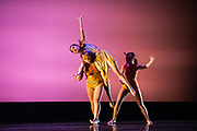 SCU Presents performs Images 2018 during dress rehearsal at Santa Clara University's Louis B. Mayer Theatre in Santa Clara, California, on February 6 - 7, 2018. (Stan Olszewski/SOSKIphoto)