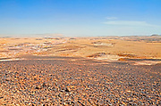 Ramon Crater, Negev, Haminsara (the Carpentry) Hill,  square rock formations that resemble cut wooden planks. Hence the name