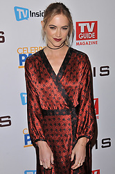 Emily Wickersham arrives at the TV Guide Magazine and CBS Celebrate Mark Harmon Cover & 15 Seasons Of NCIS held at the River Rock at Sportsmen's Lodge in Studio City, CA on Monday, November 6, 2017. (Photo By Sthanlee B. Mirador/Sipa USA)
