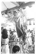 Jackie Addy. Brit  Caledonian air hostess.© Copyright Photograph by Dafydd Jones 66 Stockwell Park Rd. London SW9 0DA Tel 020 7733 0108 www.dafjones.com