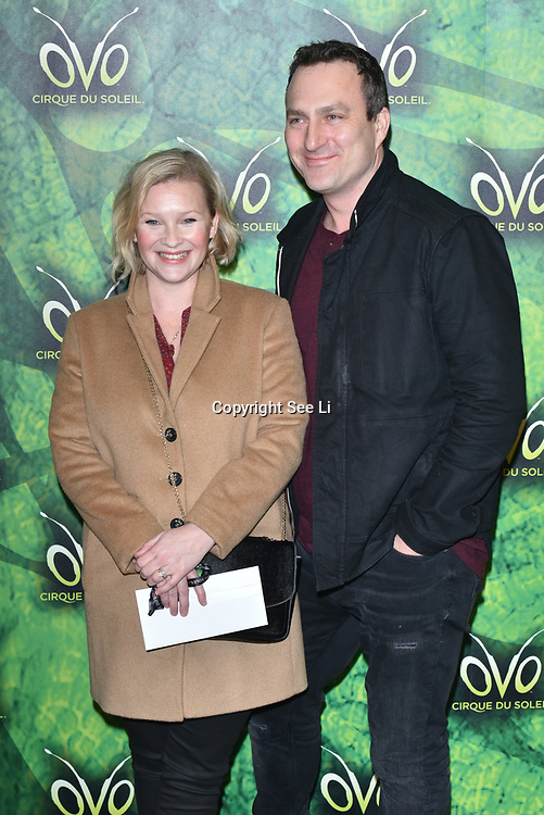 London, England, UK. 10th January 2018. Joanna Page arrives at Cirque du Soleil OVO - UK premiere at Royal Albert Hall.