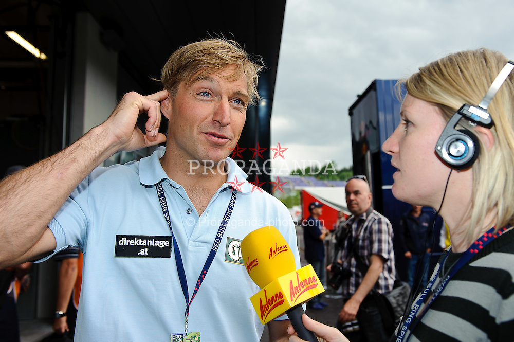 14.05.2011, Red Bull Ring, Spielberg, AUT, RED BULL RING, SPIELBERG, EROEFFNUNG, im Bild Hans Knauss // during the official Opening for the Red Bull Circuit in Spielberg, Austria, 2011/05/14, EXPA Pictures © 2011, PhotoCredit: EXPA/ S. Zangrando