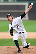 February 18, 2012: UCF lhp Eric Skoglund (25) during game 2 of non conference NCAA baseball game action between the LIU Brooklyn Blackbirds and the Central Florida Knights. UCF defeated Long Island in game 2 9-1 at Jay Bergman Field in Orlando, FL