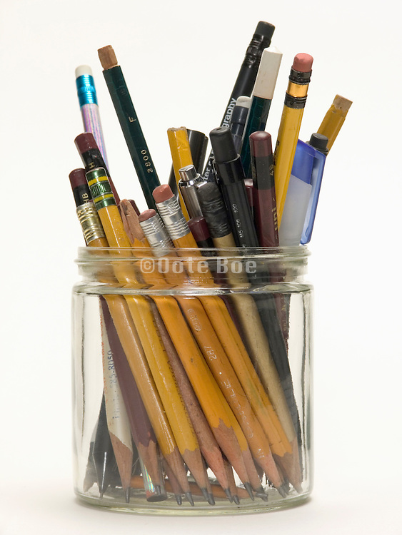 assortment of various types of pencils and pens