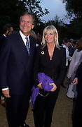 CHARLES AND PANDORA DELEVIGNE, Cartier dinner after thecharity preview of the Chelsea Flower show. Chelsea Physic Garden. 23 May 2005. ONE TIME USE ONLY - DO NOT ARCHIVE  © Copyright Photograph by Dafydd Jones 66 Stockwell Park Rd. London SW9 0DA Tel 020 7733 0108 www.dafjones.com