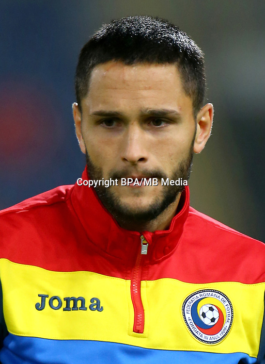 Uefa - World Cup Fifa Russia 2018 Qualifier / <br /> Romania National Team - Preview Set - <br /> Florin Andone