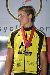 Kiel Reijnen / CU Boulder<br /> <br /> The 2007 USA Cycling Collegiate Road Championship criterium was held in downtown Lawrence, Kansas on May 13, 2007.
