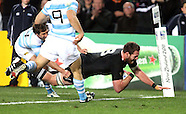 RWC2011 - Qtr Final New Zealand v Argentina