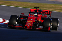 February 18, 2019 - Barcelona, Barcelona, Spain - Sebastian Vettel from Germany with 05 Scuderia Ferrari Mission Winnow SF90 in action during the Formula 1 2019 Pre-Season Tests at Circuit de Barcelona - Catalunya in Montmelo, Spain on February 18. (Credit Image: © Xavier Bonilla/NurPhoto via ZUMA Press)
