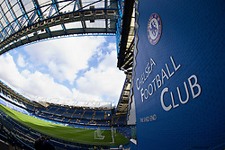 LONDON, ENGLAND - Saturday, February 22, 2014: A general view of Chelsea's Stamford Bridge before the Premiership match against Everton at Stamford Bridge. (Pic by David Rawcliffe/Propaganda)