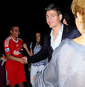 20.MAY.2009.CANNES<br /> <br /> LIVERPOOL AND ENGLAND FOOTBALLER STEVEN GERRARD ARRING AT THE AFTERPARTY FOR NEW FILM INGLORIOUS BASTARDS HELD AT BAOLI BEACH, CANNES WITH SOME FRIENDS AT 12.30AM AND LEFT AT 3.00AM AND MET A LIVERPOOL FAN OUTSIDE AND SHOOK HIS HAND BEFORE HEADING TO VIP CLUB WHERE STAYED AND PARTIED TILL 4.30AM.<br /> <br /> BYLINE MUST READ EDBIMAGEARCHIVE.COM<br /> <br /> *THIS IMAGE IS STRICTLY FOR UK NEWSPAPERS &amp; MAGAZINES ONLY*<br /> *FOR WORLDWIDE SALES &amp; WEB USE PLEASE CONTACT EDBIMAGEARCHIVE-0208 954 5968*