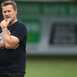 DURBAN, SOUTH AFRICA, 17 November 2015 - Robert du Preez( Assistant Coach) of the Cell C Sharks  during The Pre-season training squad and coaching team announcement at Growthpoint Kings Park in Durban, South Africa. (Photo by Steve Haag)<br /> images for social media must have consent from Steve Haag
