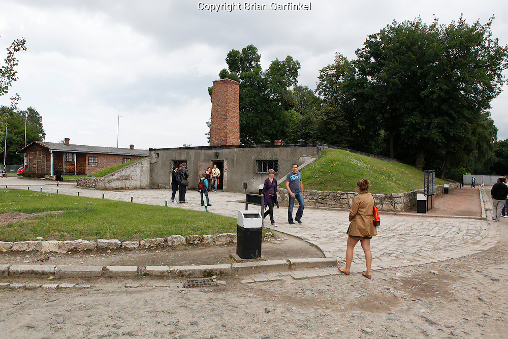 Crematorium #1 in Auschwitz Concentration Camp in Poland on Tuesday July 5th 2011.  (Photo by Brian Garfinkel)