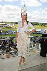 MILLIE MACKINTOSH at the Investec Derby 2015 at Epsom Racecourse, Epsom, Surrey on 6th June 2015.
