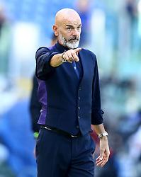 October 7, 2018 - Rome, Italy - SS Lazio v ACF Fiorentina - Serie A .Stefano Pioli manager of Fiorentina at Olimpico Stadium in Rome, Italy on October 7, 2018. (Credit Image: © Matteo Ciambelli/NurPhoto/ZUMA Press)