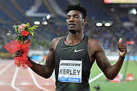 Fred KERLEY USA winner 400m Men <br /> Roma 31-05-2018 Stadio Olimpico  <br /> Iaaf Diamond League Golden Gala <br /> Athletic Meeting <br /> Foto Andrea Staccioli/Insidefoto