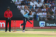 Chris Jordan during the One Day International match between South Africa and England at PPC Newlands, Capetown, South Africa on 4 February 2020.